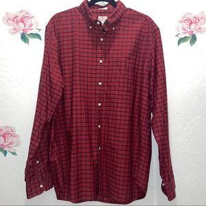 J. Crew All Cotton Oxford Button Down Shirt